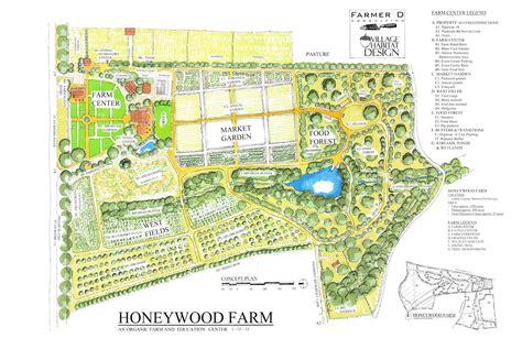 10 small blue printer garden planner honeywood farm in barnesville georgia usa on behance