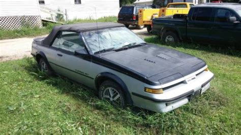 1987 Pontiac Sunbird by Find Used 1987 Pontiac Sunbird Gt Turbo Convertible