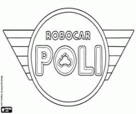 Coloriage Robocar Poli 224 Imprimer