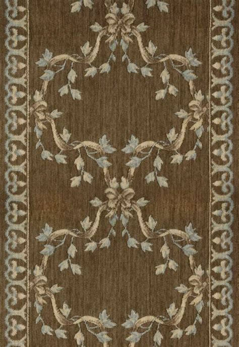 3 foot wide runner rugs nourison ashton house a01r ribbon trellis mink 3 foot wide and stair runner