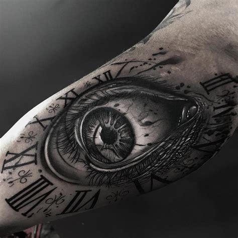 tattoo fixers eye clock clock tattoo tattoo insider