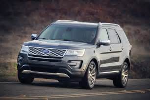 Ford Explorer Length 2016 Ford Explorer Review Ratings Specs Prices And