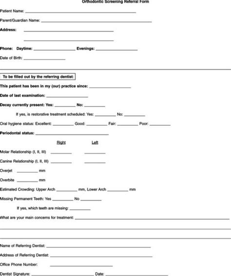 dental referral form pictures to pin on pinterest pinsdaddy