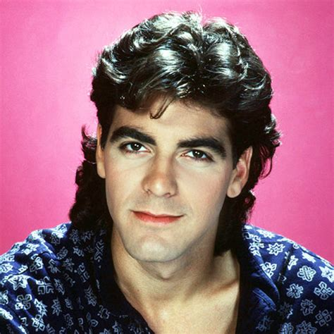 hair styles from 1985 george clooney s changing looks instyle com