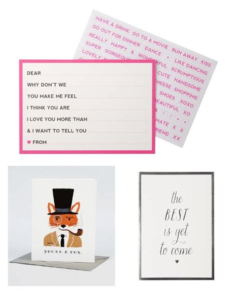 Tops Gift Card Selection - lovely fox valentines day card selection valentines day