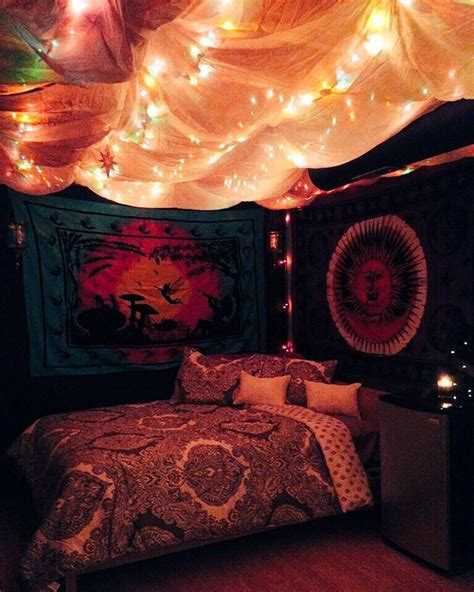 indie themed bedrooms aesthetic colorful decor grunge hipster indie room