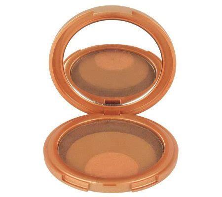 Prescriptives Sunsheen Cooling Bronzer Powder by Prescriptives Sunsheen Bronzing Powder Trio Compact Qvc