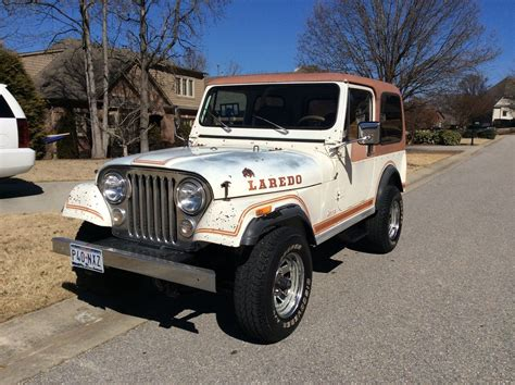 texas jeep 1983 jeep cj 7 laredo unrestored original cj super solid