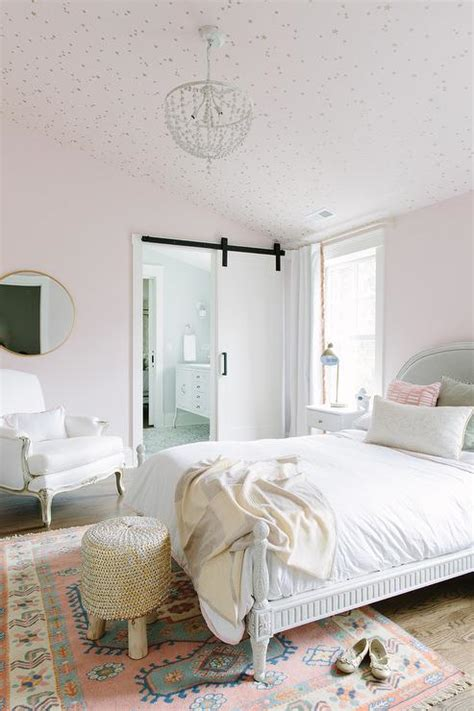 wallpaper girls bedroom pink girls bedroom with cole and sons stars wallpaper on
