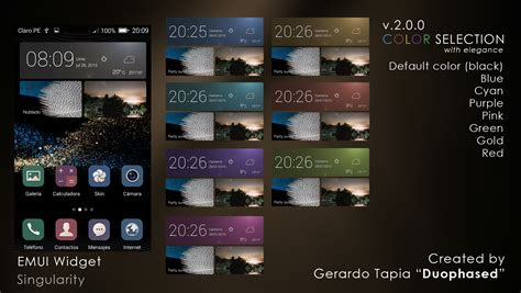 emui 3 1 lite themes emui 3 1 mewidget singularity theme for xwidget by