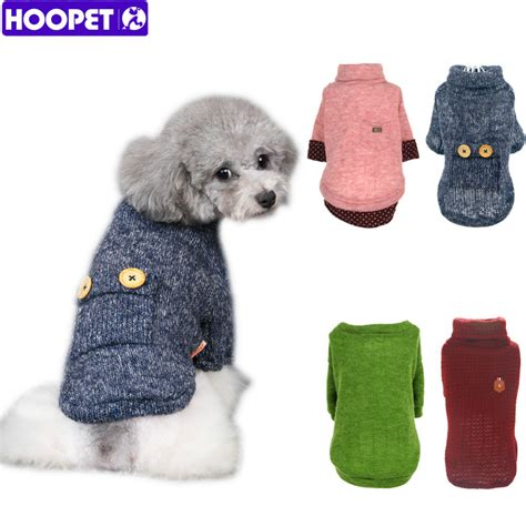 Pet Cat Shirt Puppy Winter Warm Clothes Sweater Costume Jacket Coa pet woolen sweater puppy knitwear clothes hoodie