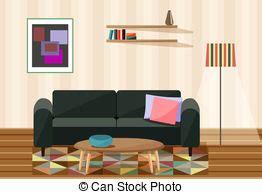 Wohnzimmer Clipart by Wohnzimmer Clipart Und Stock Illustrationen 31 961