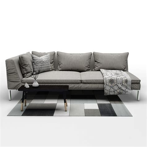 couch b couch b 28 images couch b b italia charles 3d model