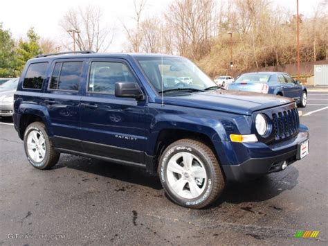 navy blue jeep patriot 2012 true blue pearl jeep patriot sport 4x4 62097709