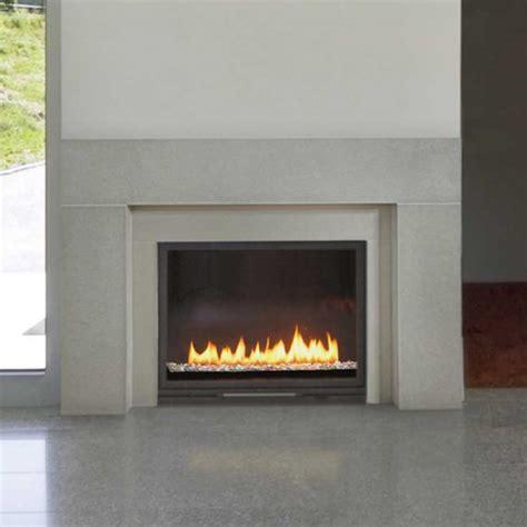 linnea 4 concrete fireplace surround charcoal paloform