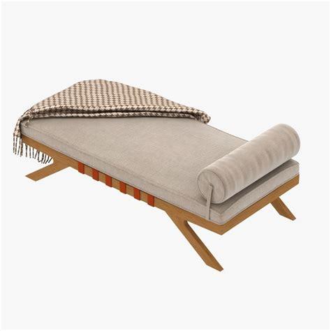 mid century chaise lounge mid century chaise lounge 3d model max obj 3ds fbx