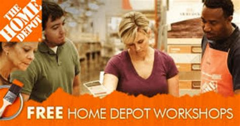 the home depot canada free workshops june schedule