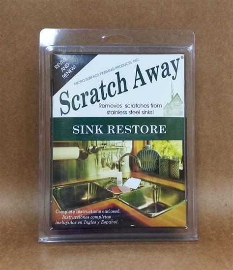 restore stainless steel sink micro mesh scratch away remover stainless steel sink