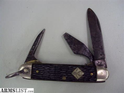 cub scout pocket knives armslist for sale imperial cub scout 3 blade folding