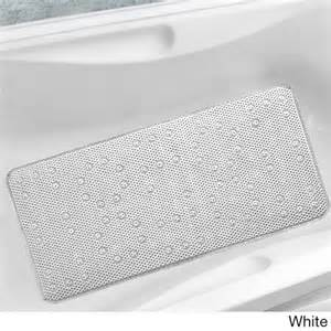 best bath mats antibacterial cushioned waffle bathtub mat overstock