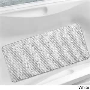 antibacterial cushioned waffle bathtub mat overstock