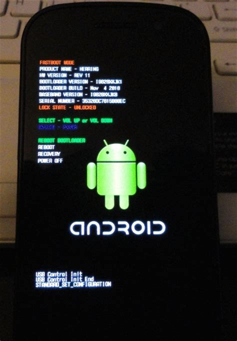 android loader how to flash nexus s