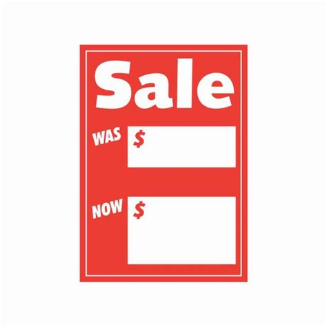 Cards Sale - sale was now price card showcards sale was now display