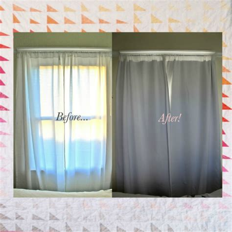 blackout curtains diy how fantastic a blog by rita killilea