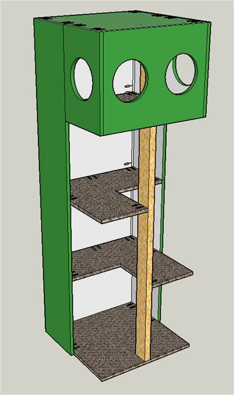 cat tree house plans free cat tree house buildsomething com