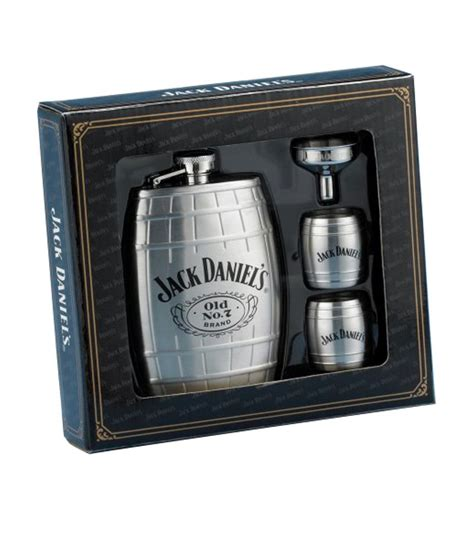 jack daniels barware jack daniels licenced barware silver stainless steel 177 44 superlative barrel flask