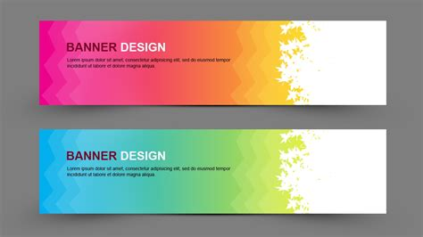 design banner photoshop learn how to create simple banner design in photoshop