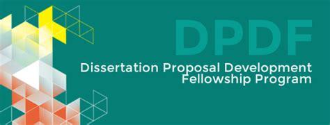 dissertation development fellowship dissertation development fellowship dpdf