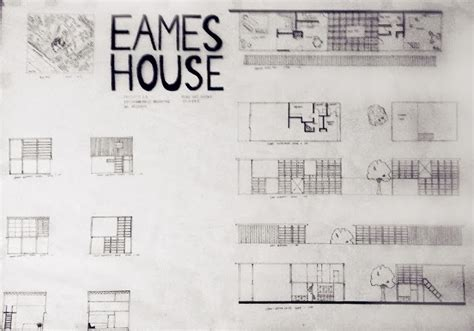 eames house section e portfolio december 2013