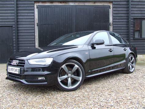 Audi A4 Black Edition by Audi A4 Black Edition 2 0 Tdi 143 Oliver Cars Ltd