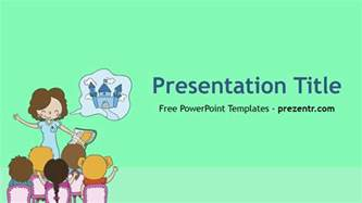 Powerpoint Templates For Teachers by Free Powerpoint Template Prezentr Powerpoint