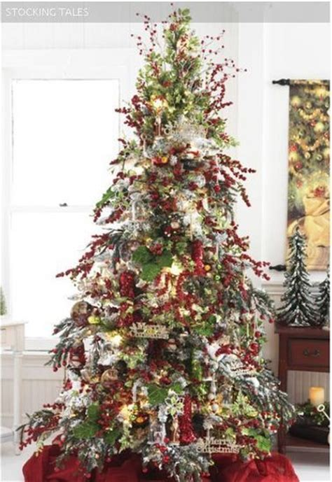 old fashioned christmas christmas trees pinterest
