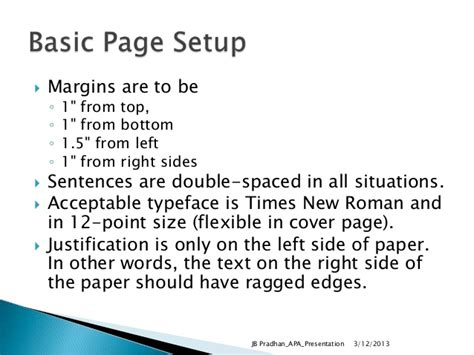 margins for dissertation thesis writing using apa format
