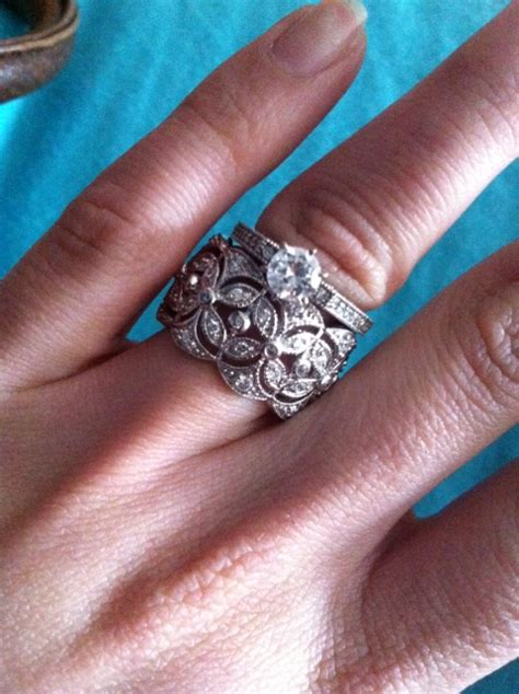 help wide vintage band thin e ring much weddingbee