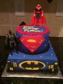 Batman vs superman birthday cakes on pinterest fondant cake images