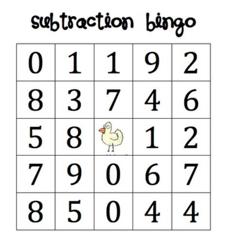 printable math bingo games for kindergarten here s a set of four different cards for playing