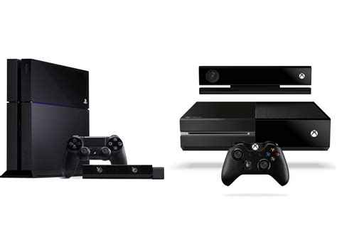 ps4 vs xbox one console ps4 vs xbox one battle of the next consoles kym uk