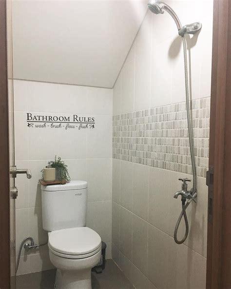 Stiker Kamar Mandi Toilet Bathroom Wall Sticker D tulisan bathroom yang lagi hits dekorasi kamar