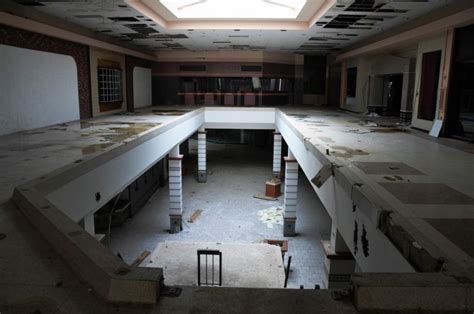 ghostly images of abandoned malls houses and buildings by this abandoned wasteland was once america s largest mall