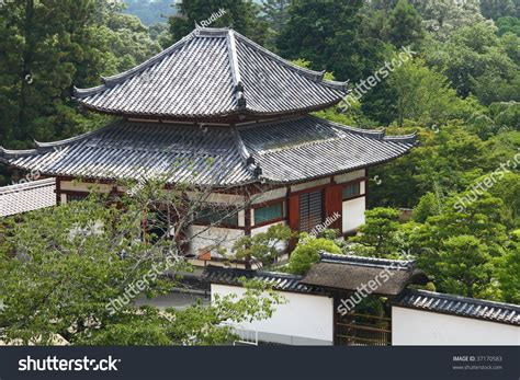 traditional japanese house traditional japanese house traditional japanese house nara stock photo 37170583