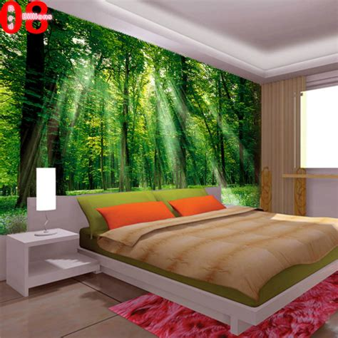 wall murals for room mural living room wallpaper tv sofa wall decoration painting scenery 3d wall mural green jpg