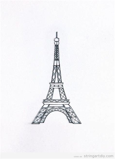 Eiffel Tower String - 1000 images about string on string