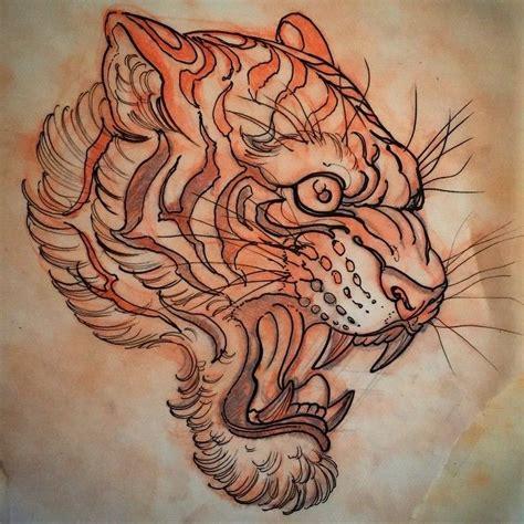 tattoo flash tiger le tigre tiger tattoo drawing tattoo flash