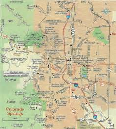 map of colorado springs 2012 flickr photo