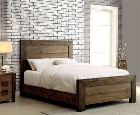 california king bed frames aveiro collection cm7627 furniture of america california