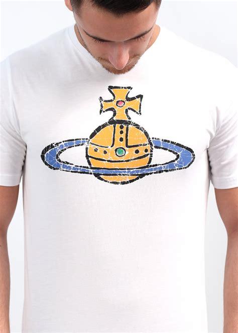 vivienne westwood t shirt vivienne westwood logo t shirt white ss14